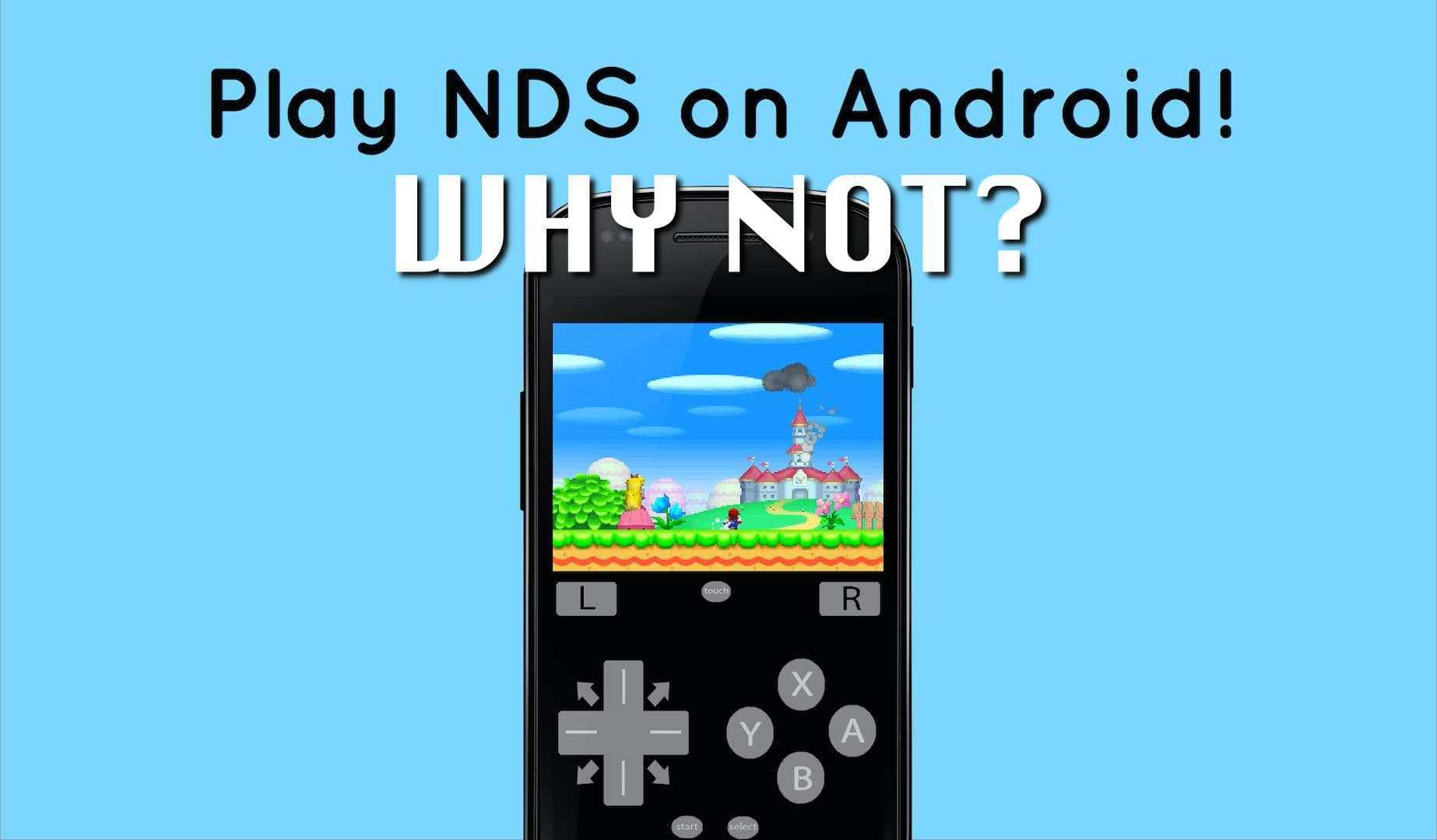 play nds game on Android