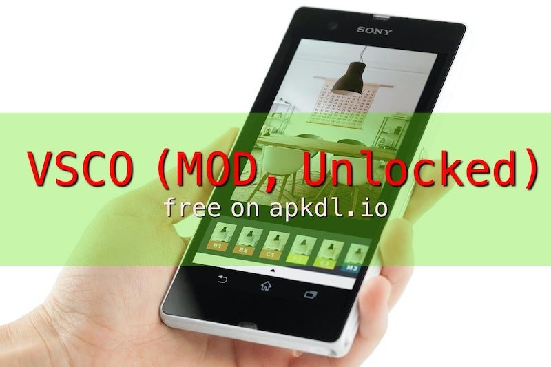 vsco X Mod for Android