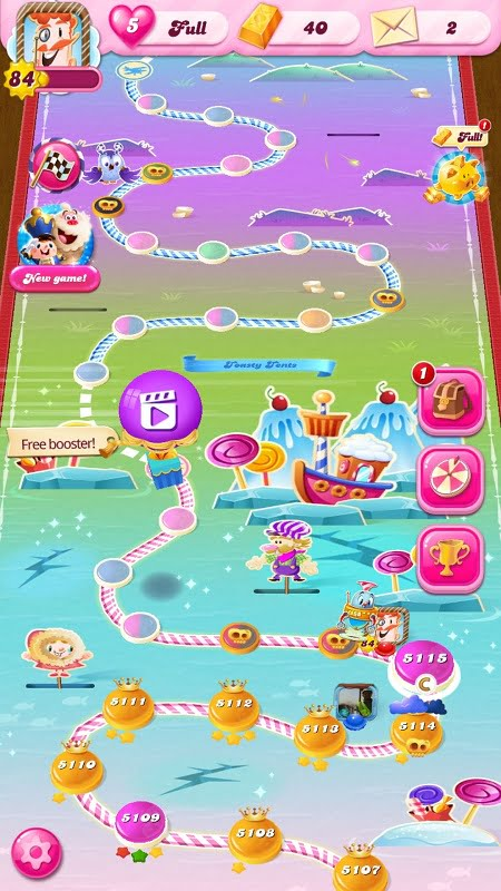 Candy Crush saga all level unlocked