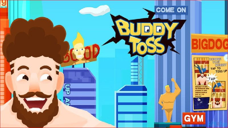 Buddy Toss funny