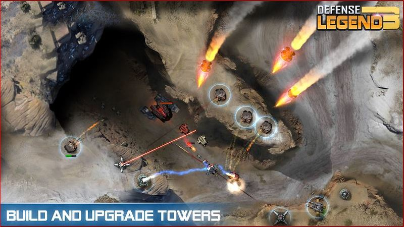 Defense Legend 3 build tower