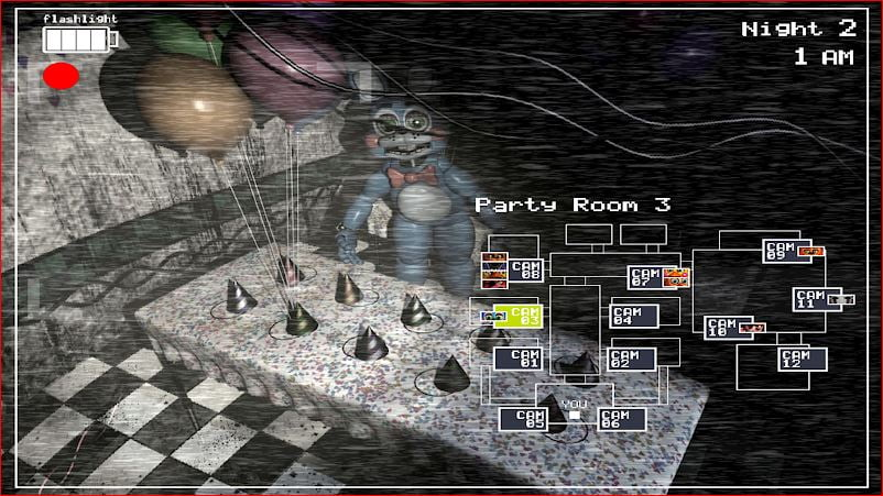 Five Nights at Freddy's 2 gameplay