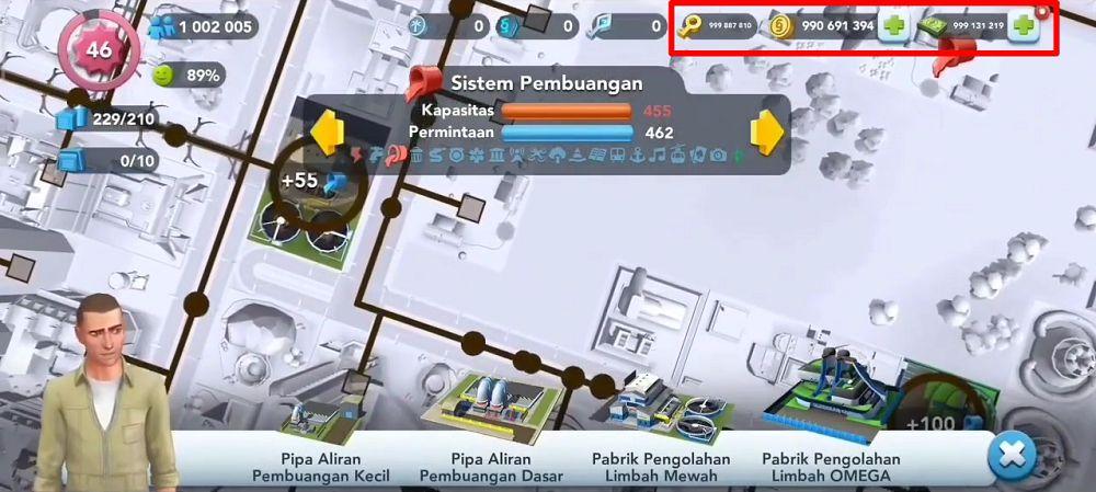 SimCity BuildIt MOD Money