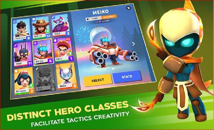 Heroes Strike Offline - MOBA và Battle Royale