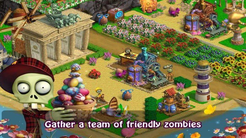 Zombie Castaways  gameplay