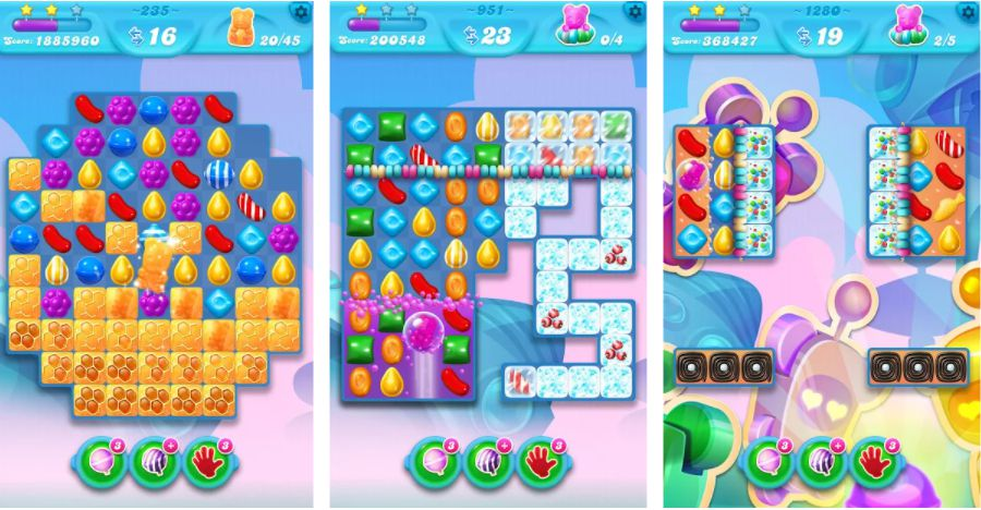 Candy Crush Soda Saga Mod features