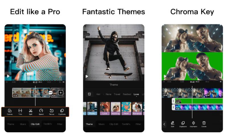 VivaVideo PRO features