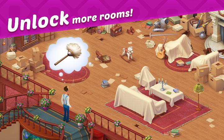 homescapes mod unlock room
