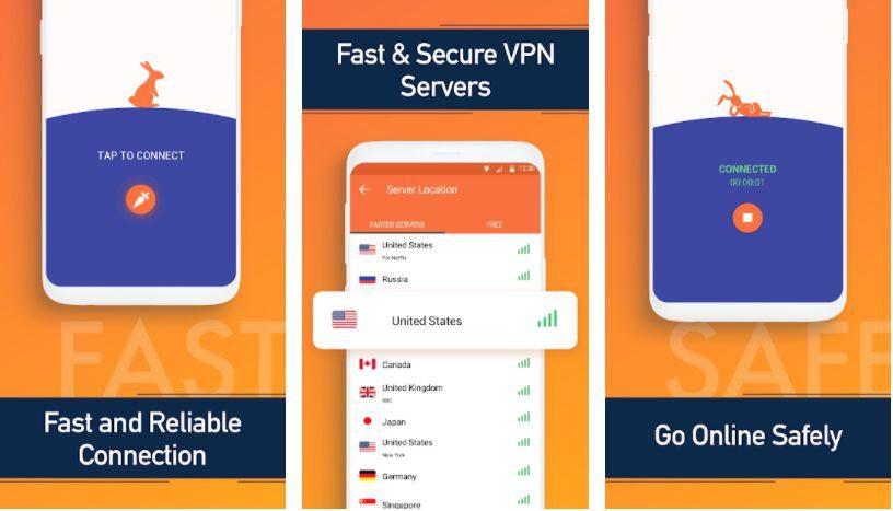 Turbo VPN VIP key features