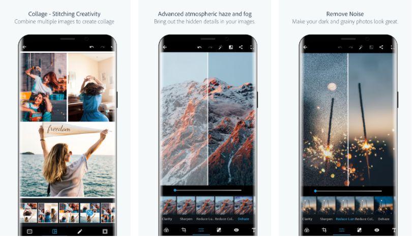 Adobe Photoshop Express Premium features