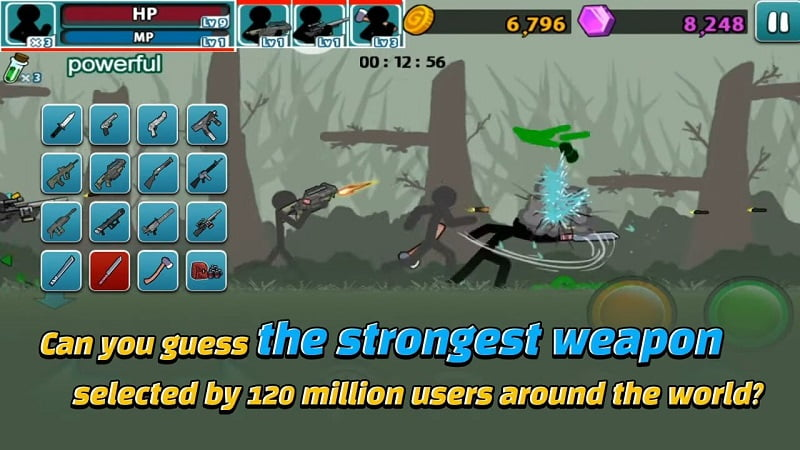 Anger of Stick 5 gameplay