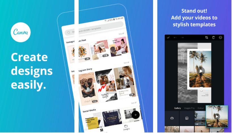 canva premium app features