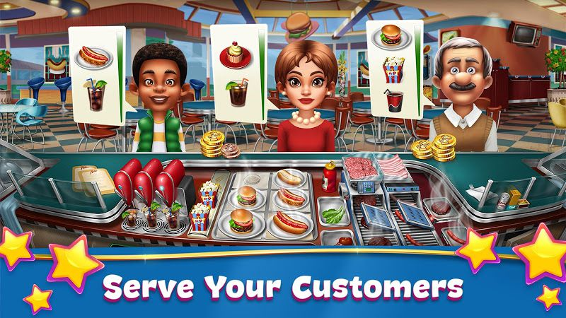 Cooking Fever Gameplay