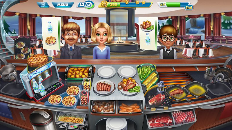 Cooking Fever MOD graphics