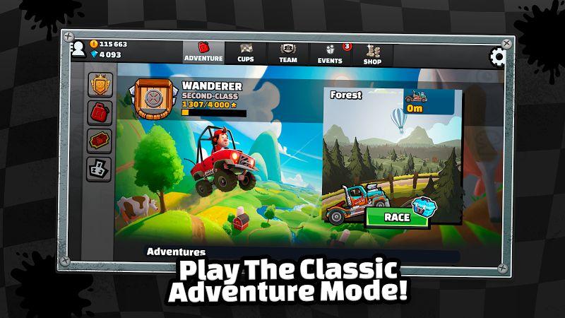 Hill Climb Racing 2 gameplay