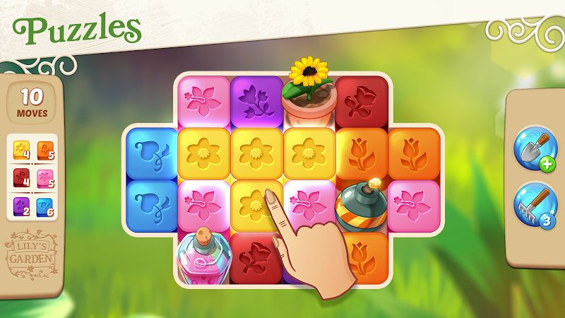 Lily's Garden gameplay