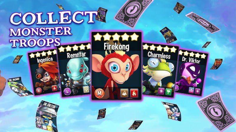 Monster Legends all cards