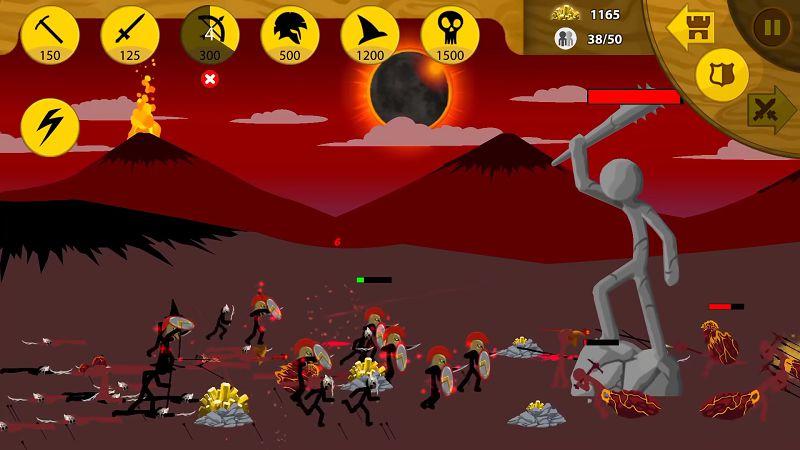 Stick War Legacy gameplay