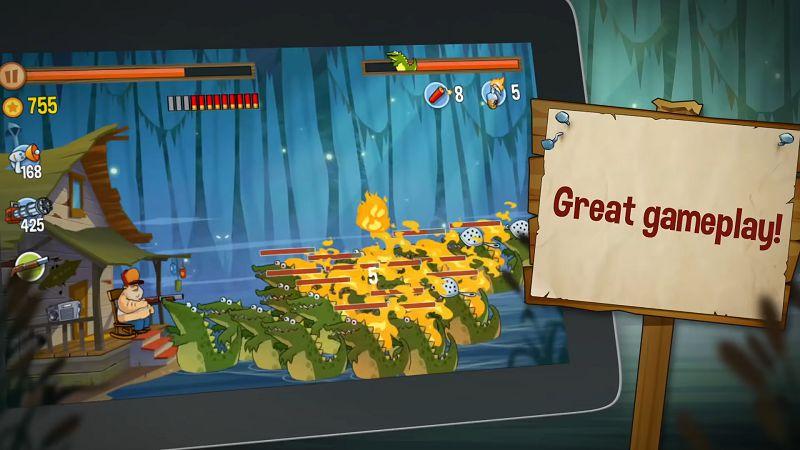 Swamp Attack gameplay