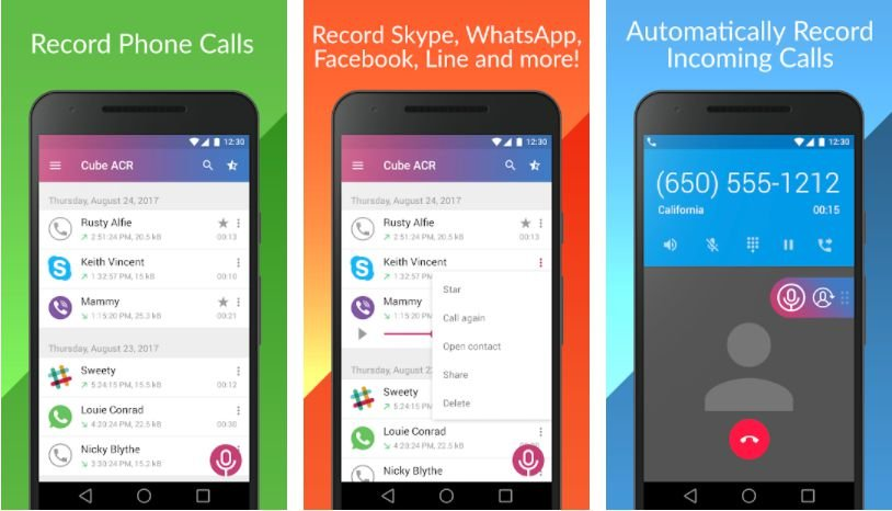 Call Recorder - Cube ACR Features