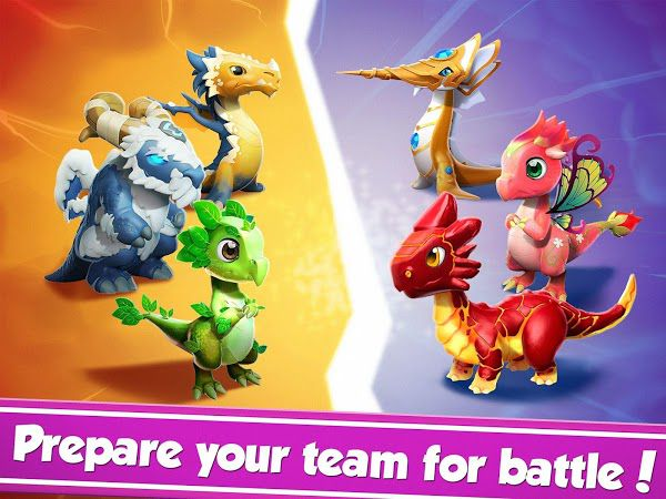 Dragon Mania Legends fights