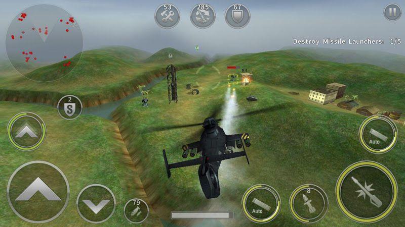 GUNSHIP BATTLE gameplay