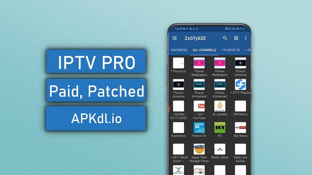 IPTV PRO MOD