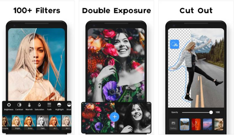 Photo Editor Pro features