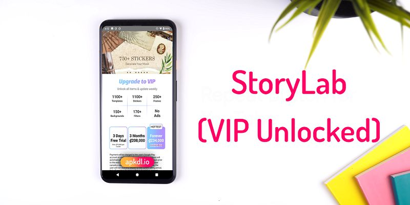 Story Lab VIP Unlocked APK