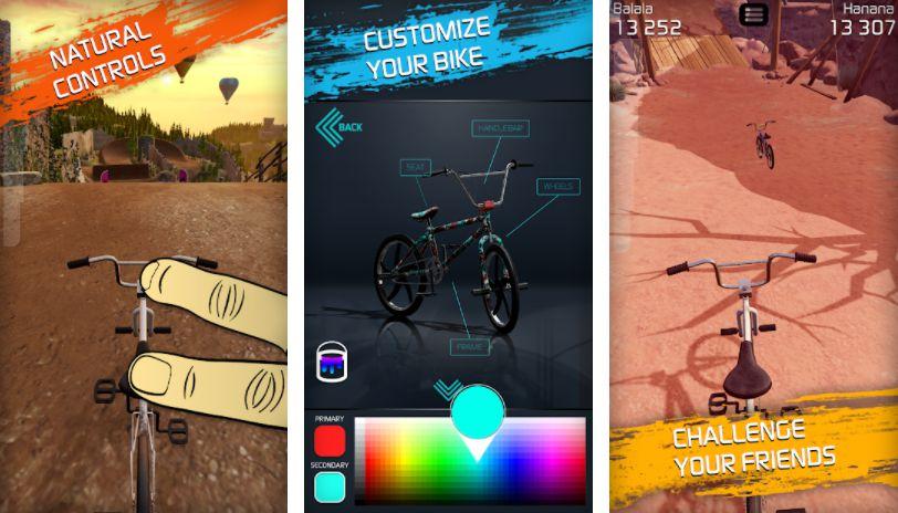 Touchgrind BMX 2 Key features