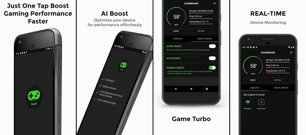 Game Booster 4x Faster Pro Features