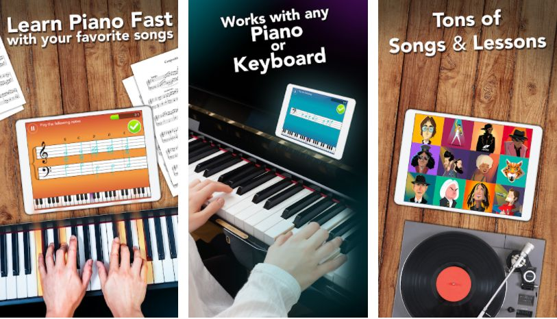 Simply Piano by JoyTunes key features